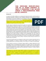 Norma Oficial Mexicana Nom y Investigacion Karina