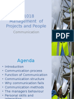 1 BE1018 Management of Projects and People Communication Rev a(1)