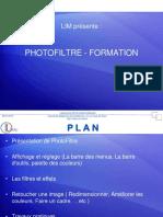 Phtofiltre - 01 Présentation