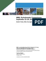 NREL Pyranometers Comparison