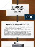 MÓDULO ANALÓGICO EM235
