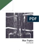 Max 46 Topics