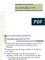 Lecture Seeding Particles for PIV
