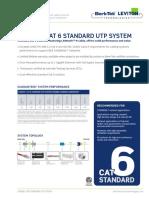 UTF-8'Es-cl'BLT SDS CX6000 Cat6StandardUtpSystem