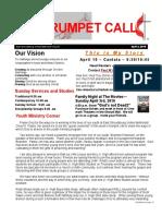 Trumpet Call 2016-4-3