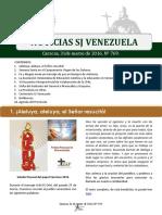 Noticias SJ Nº 769