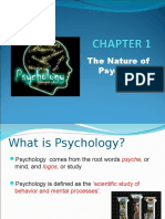 Nature of Psychology