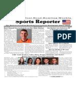 April 13 - 19, 2016  Sports Reporter
