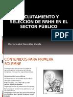 Reclutamiento y Seleccion Rrhh Publico