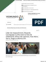Líder do impeachment, Eduardo Caranguejo Cunha está na lista da Odebrecht; Dilma não aparece, mas Aécio, Serra, Viagra e Múmia sim - Viomundo - O que .pdf