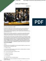 Não ao golpe parlamentar, por Maria Luiza Quaresma Tonelli _ GGN.pdf