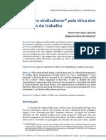 """O """"NOVO SINDICALISMO"""" PELA ÓTICA DOS ESTUDOS DO  TRABALHO.pdf"""