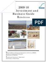 Balochistan Investment Guide 2009