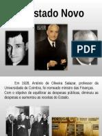 O Estado Novo (1933-1974)