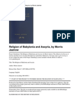 The Religion of Babylonia and Assyria by Jastrow