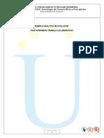 Rubrica Analitica de Evaluacion 2015