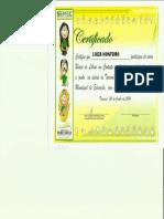 Certificado Potuz