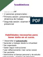 Escritos Académicos Presentación Del Curso