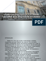 Influências Neoclássicas e Ecléticas Nas Artes e Na Arquitetura de Belém 2