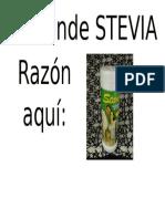 Se Vende Stevia