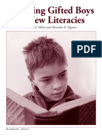 engaging gifted boys in new literacies