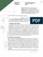 Recurso de Nulidad Nº 325-2014/Lima