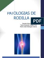 Patologiasde rodilla