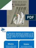 Presentación Informe Anual 2015