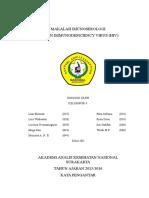 MAKALAH IMUNOSEROLOGI kerangka.doc