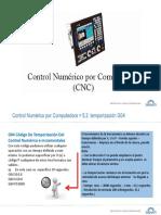 4.4 Programación CNC - Temporización