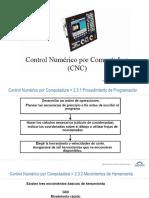 2.4 Programación CNC - Movimientos de Herramienta
