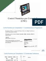 4.3 Programacion CNC - Coordenadas Absolutas e Incrementales