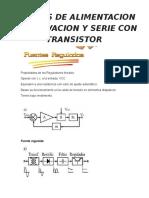 Fuentes de Alimentacion en Derivacion y Serie Con Transistor - c