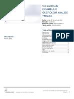 Ensamblaje Gasificador Análisis Térmico-Análisis Estático 1-1