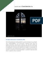 Desarrollo de La Conciencidesarrollo de la conciencia alta.docxa Alta