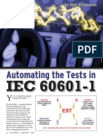 Electrical Safety Test 60601-1