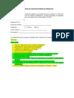 Auditoria de Gestion Externa de Residuos