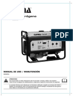 Manual GAMMA 7500E uso mantenimiento