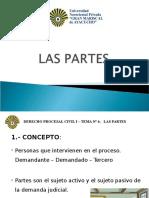Diapositivas Procesal Civil - Las Partes