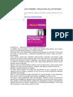 Resumo Do Livro PAULO FREIRE