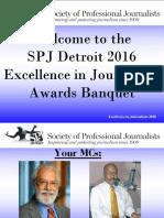 2016 SPJ Detroit Award Winners