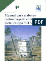 1401 Manual Para Elaborar Carbón Vegetal en Horno Metálico Tipo CEVAG.