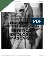 O Nascimento de Uma Nação_ Estética, Ideologia, Máscaras — Incinerrante