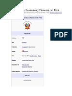Ministerio de Economía y Finanzas del Perú.docx