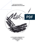 Petunjuk Praktikum Mikrobiologi Ff Uho 2016