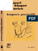 Gramsci Bloque Histórico