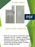 Eltek Rectifier Cabinet-SW