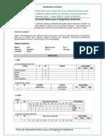 Ficha de Info Básica Para El Diagnóstico Ambiental.
