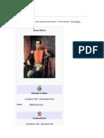 Simón Bolívar Para Facebook