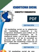 Concepto de La Mercadotecnia Social